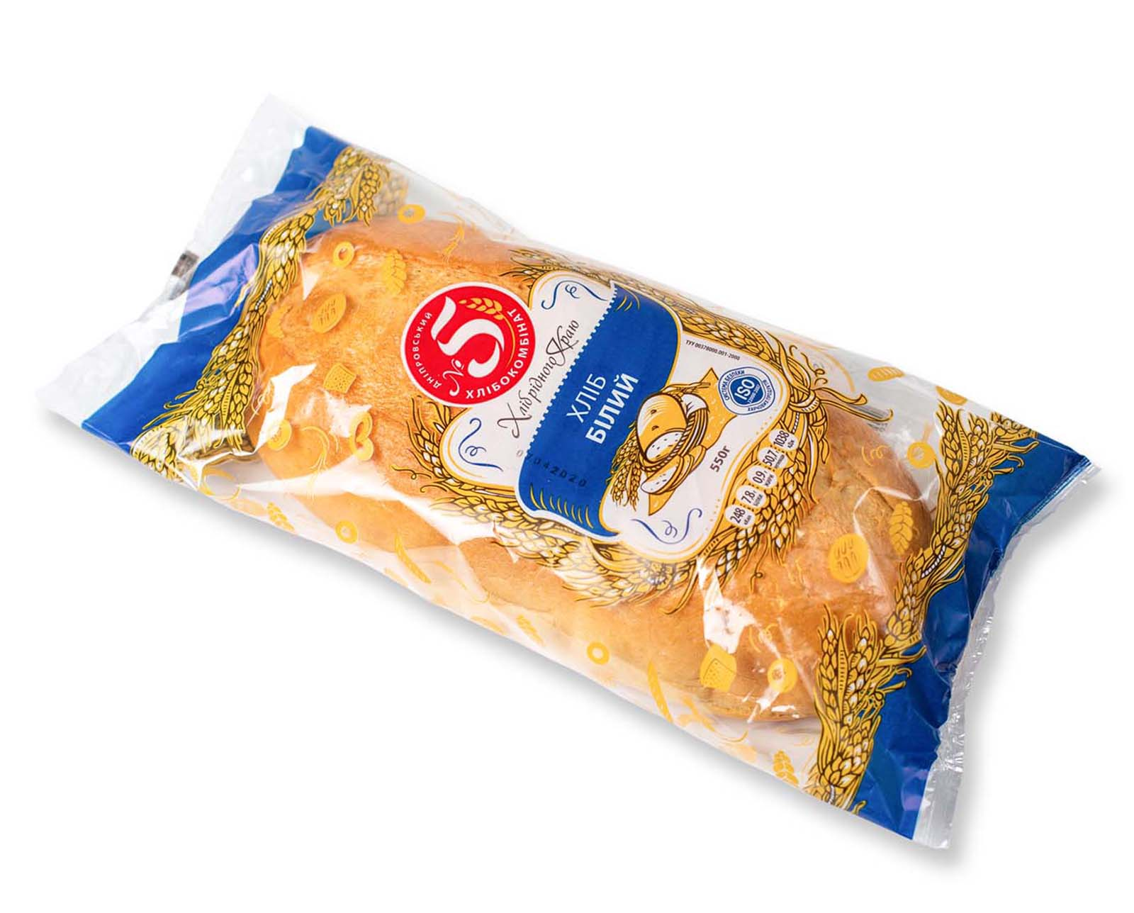 """""""Хліб Білий"""" в упаковці"""