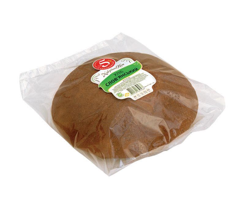 """Хліб """"Слов`янський"""" в упаковці"""