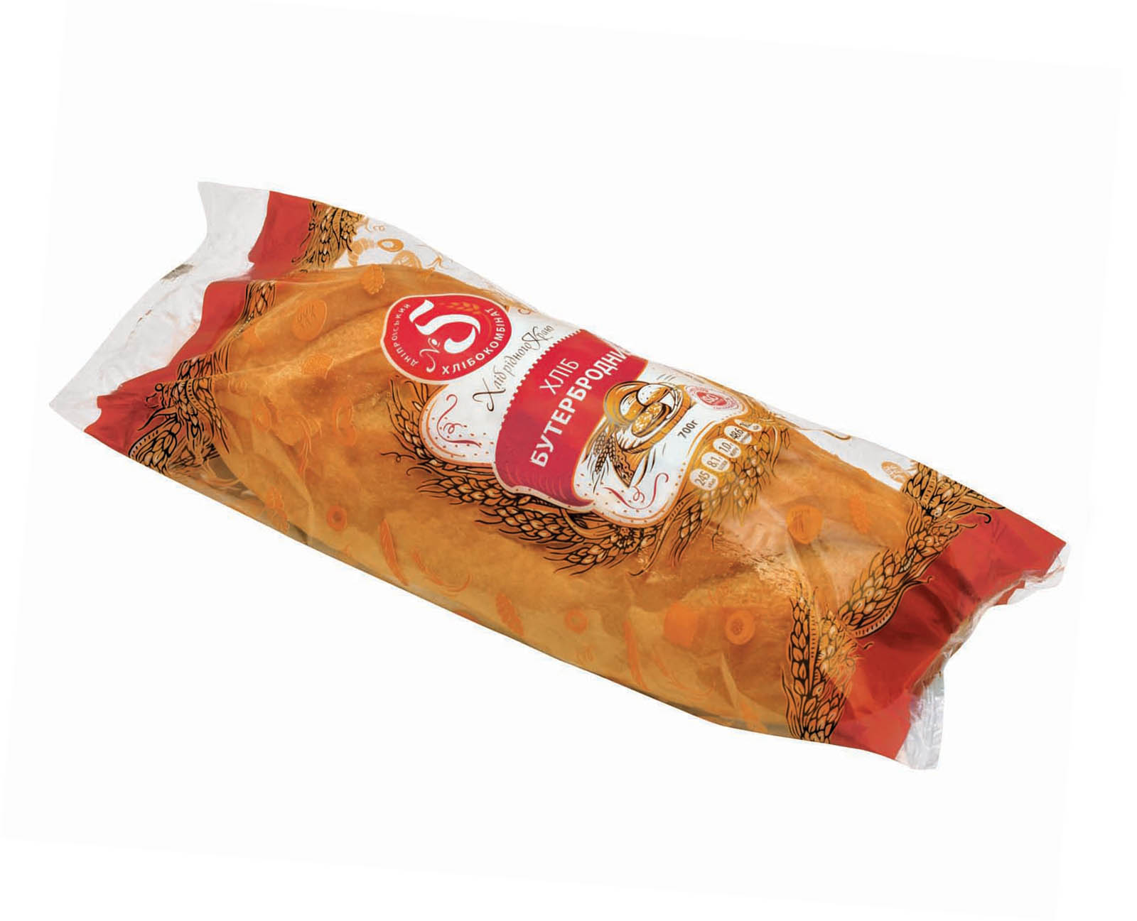 """Хліб """"Бутербродний""""  в упаковці"""